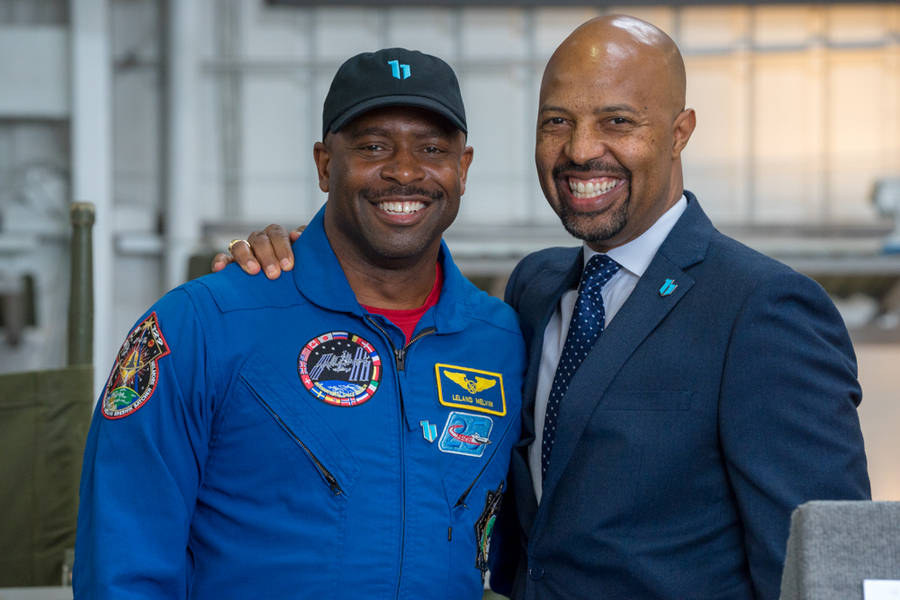Former NASA Astronaut Leland Melvin to be Official Spokesperson for $1M+ Base 11 Space Challenge