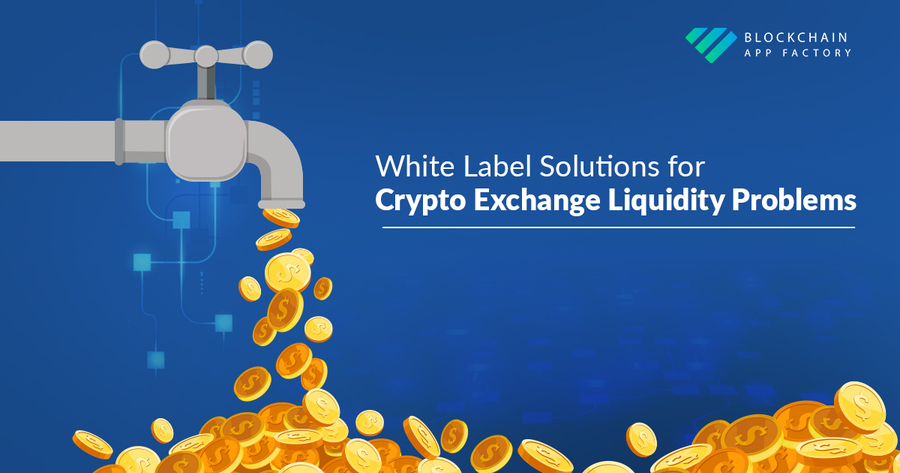 White Label Crypto Exchange Solutions By Blockchain App Factory Help Address Liquidity Problems