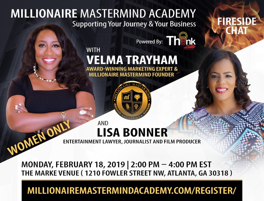 Millionaire Mastermind Academy to Feature Entertainment Lawyer Lisa Bonner on Feb. 18