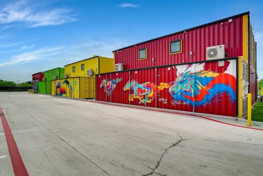 Shipping Container Business Park Hosts Free Tours During Graffiti Arts Event