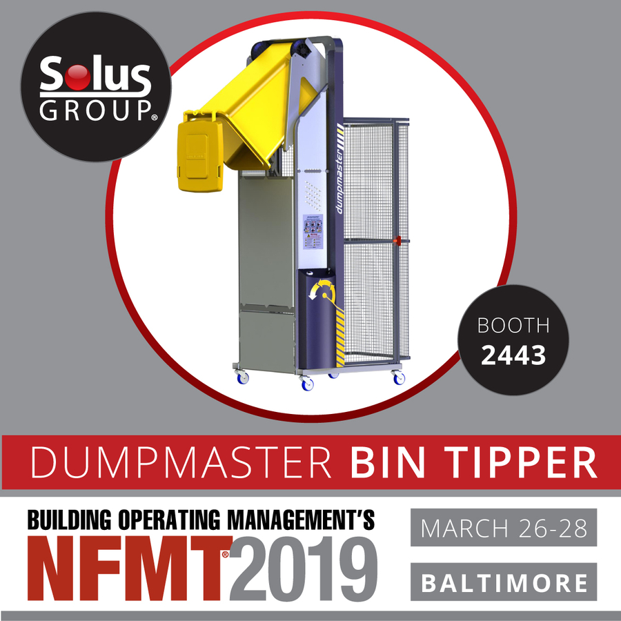 Visit Solus Group, Try a Bin Tipper at NFMT 2019
