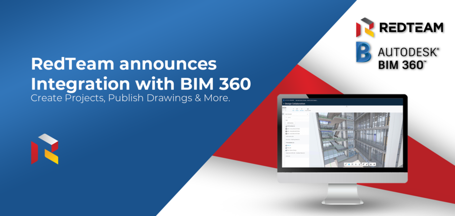RedTeam Software Announces Integration With Autodesk BIM 360