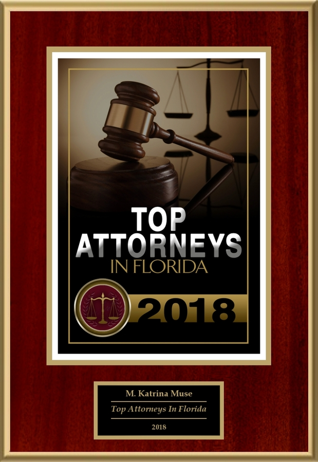Attorney M. Katrina Muse Selected for List of Top-Rated Lawyers in FL