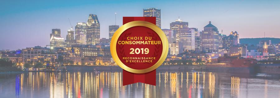 Lauréats du Choix du Consommateur 2019 | Région métropolitaine de Montréal