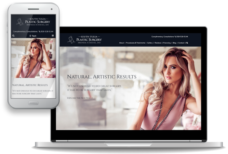 South Tulsa Plastic Surgery Launches New Website for Women and Men Considering Breast Surgery and Body Contouring Procedures