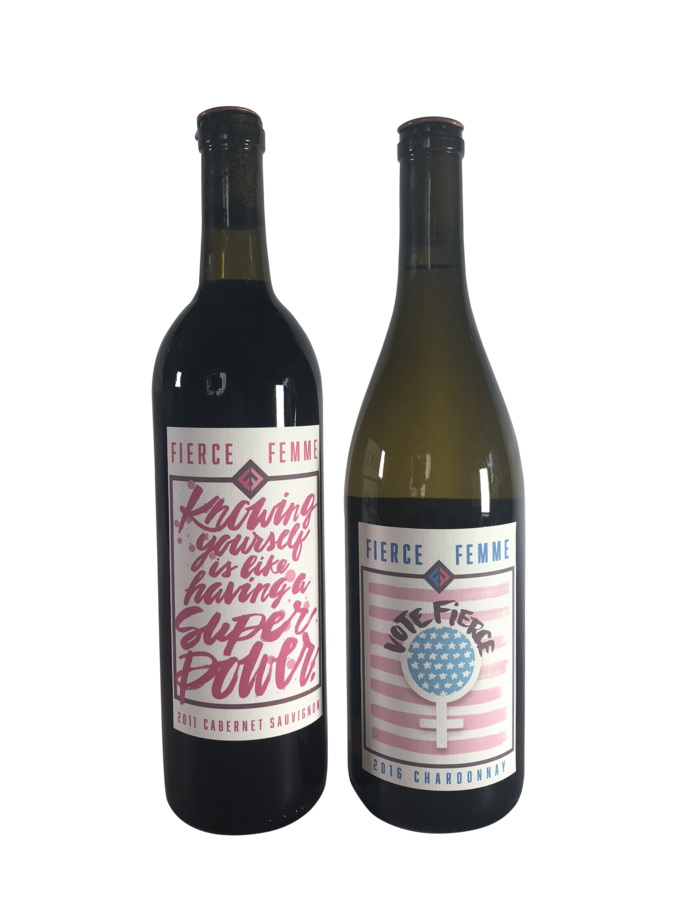 The Fierce Femme Wine Brand Captures a Reflection of Today's Successful Woman by Inspiring Dialog