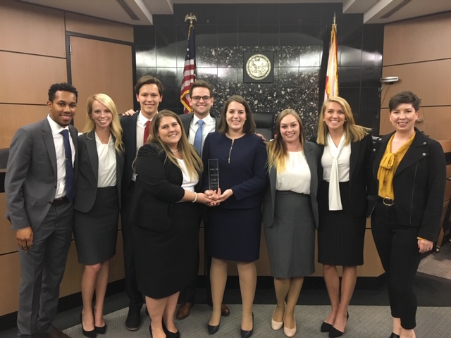Stetson Law Wins Regional American Association of Justice Trial Competition, Advances to Nationals