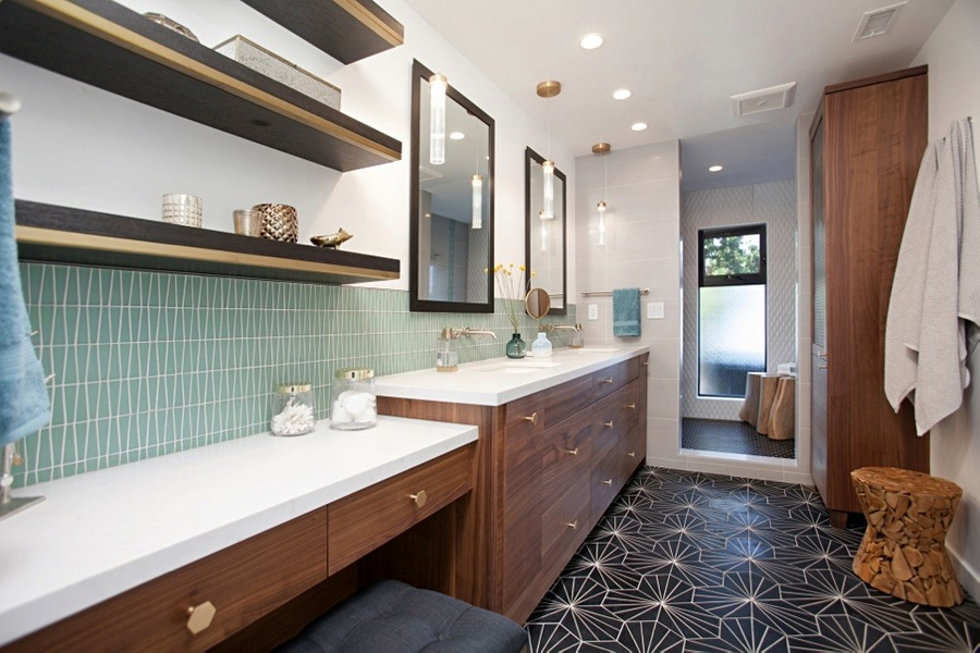 Taking Its Place as the Best of 2019! Jackson Design and Remodeling Wins National NKBA Award for Mid-Century Modern Bathroom that Continues to 'Wow' Design Industry