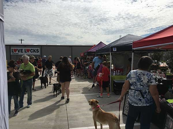 Golden Triangle Dog Park Welcomes Four-Legged Friends to Free Second Annual Graffiti Arts Festival