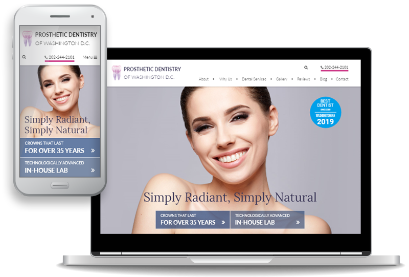 Prosthetic Dentistry of Washington D.C. Launches Unique Custom Website for Cosmetic and Dental Implant Patients