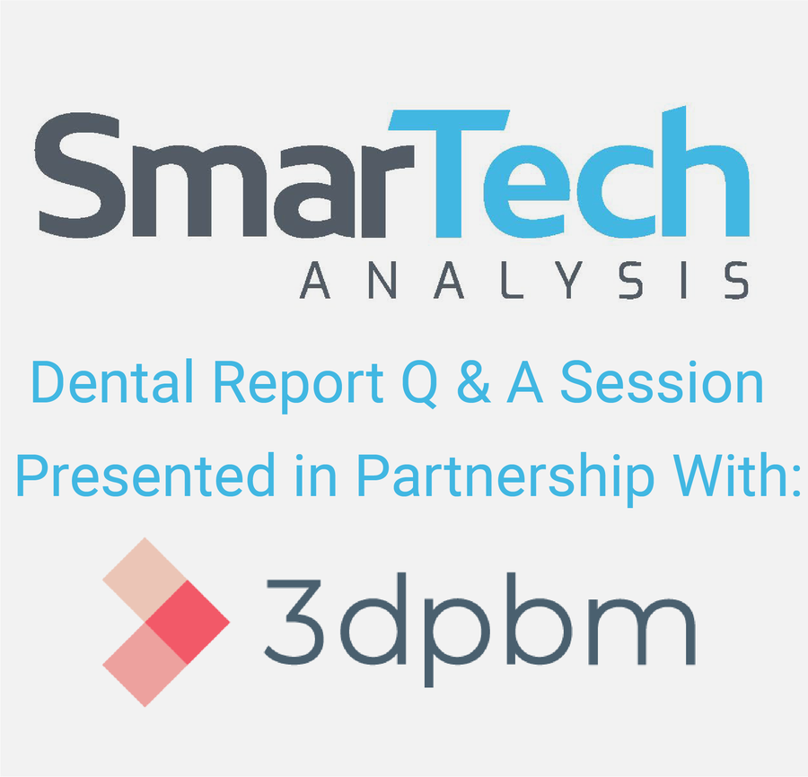SmarTech Announces Conference Call for New Report on Additive Manufacturing in Dentistry