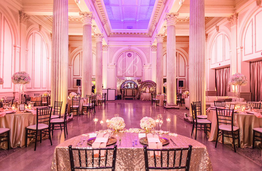 The Treasury on the Plaza Named Winner in the Knot Best of Weddings 2019