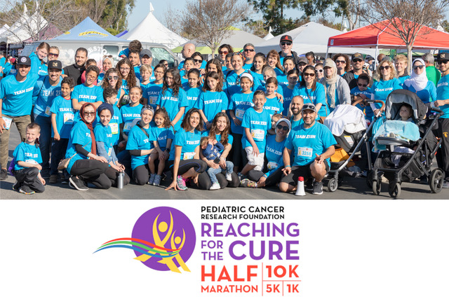Pediatric Cancer Research Foundation's Reaching For The Cure Raises Over $430,000