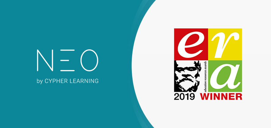 NEO LMS Announced as a Winner of the Education Resources Awards