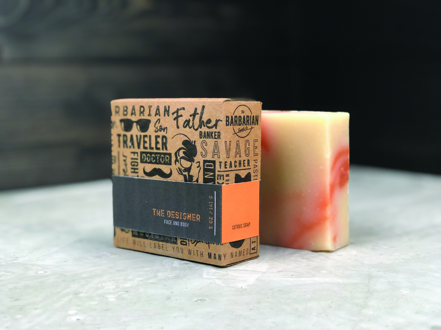 Natural Manly Soap Made for all Men, Get yours Now!