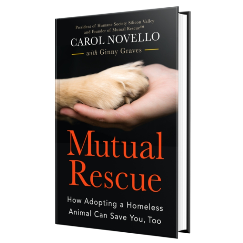 Mutual Rescue™ Founder Authors Book About How Adopting Animals Transforms Human Lives