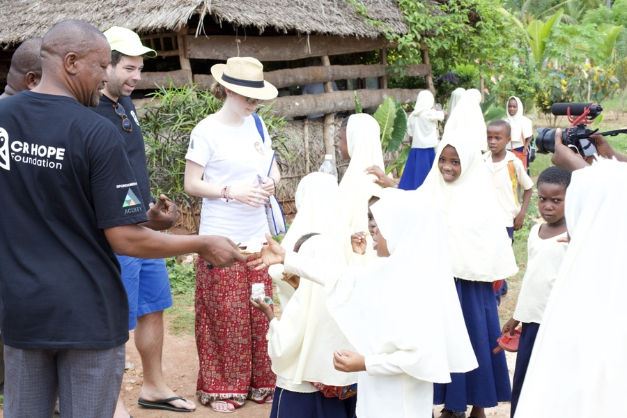 Acuity Trading Partners with CR Hope Foundation to Improve the Lives of Children in Zanzibar