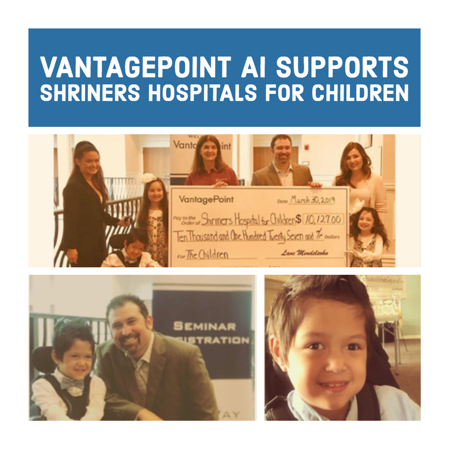 Vantagepoint AI Makes ANOTHER +$10,000 Donation to Shriners Hospitals for Children