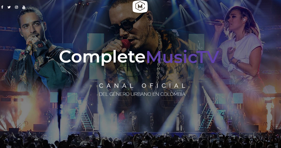 CompleteMusicTV the Revolutionary Latin Urban Music Platform Launched in Medellin Colombia