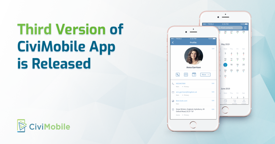 Agiliway Releases the Third Version of CiviMobile App