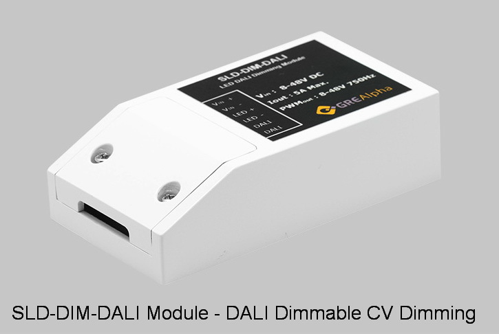 GRE Alpha Launching New DALI-2 Dimming Module
