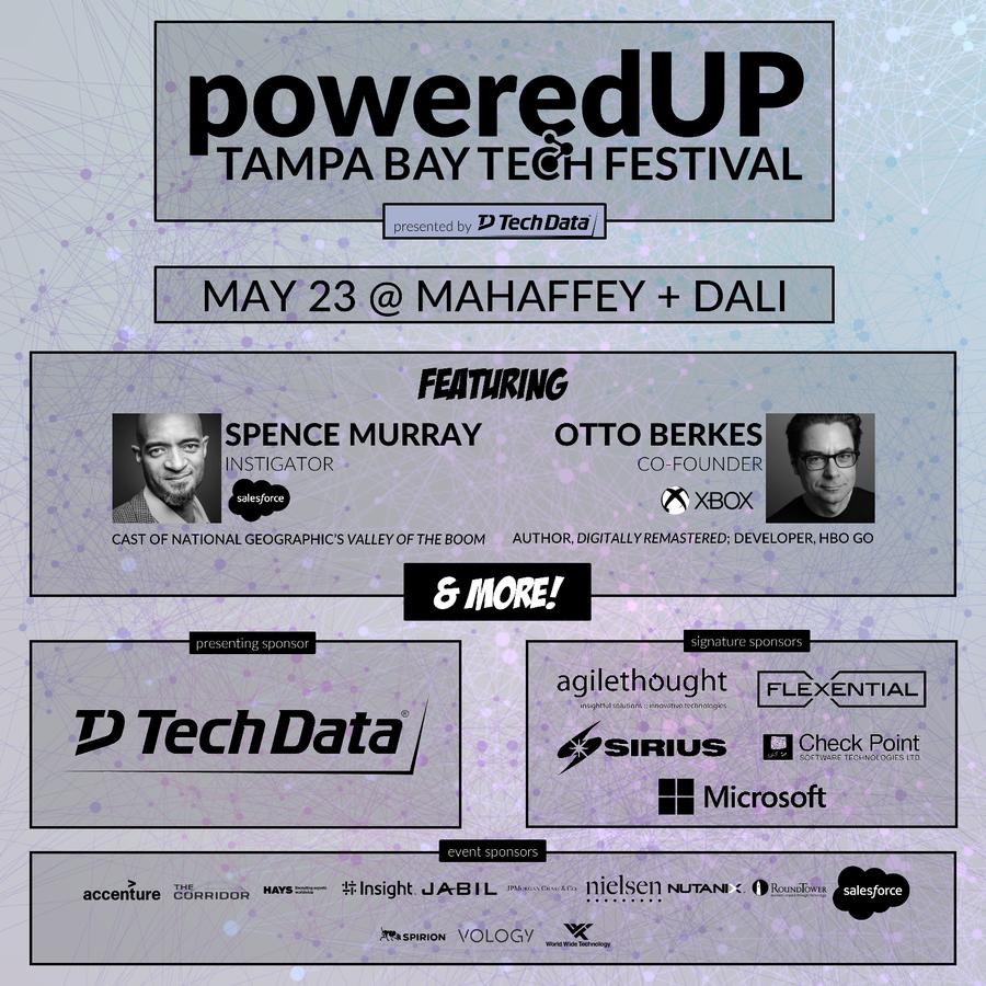 Announcing the 2019 poweredUP Tampa Bay Tech Festival