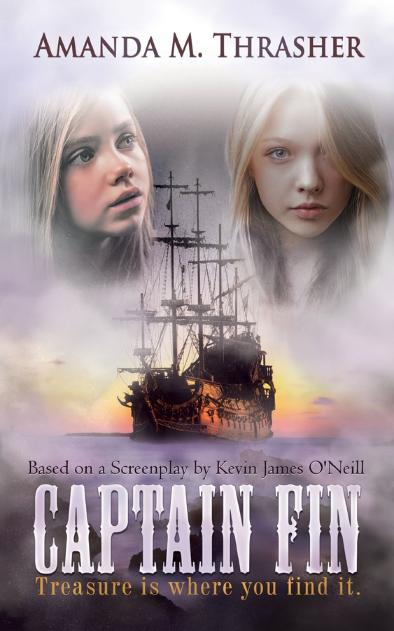 CAPTAIN FIN a Novel by Amanda M. Thrasher is Artistry in Words!