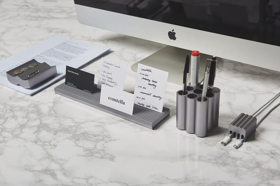 DESKAPE – Hyper Minimal Design Desk Organizers