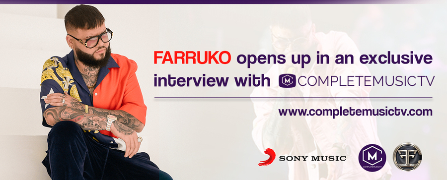 Farruko Opens Up in an Exclusive Interview with Completemusictv.com