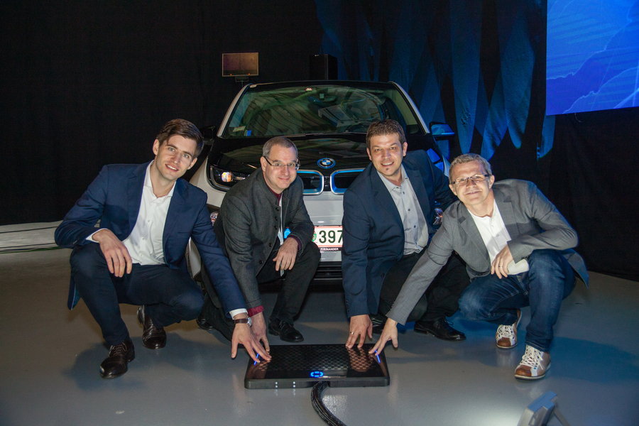 The Car That Charges Itself!