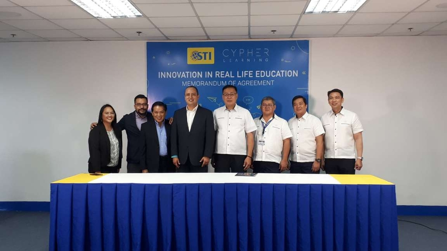STI College, Leading Education Institution in the Philippines, Renews Contract with CYPHER LEARNING for 3 more years