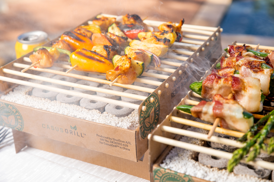 CasusGrill, the World's First 100% Natural Biodegradable Grill, Wins Two Awards at NHS