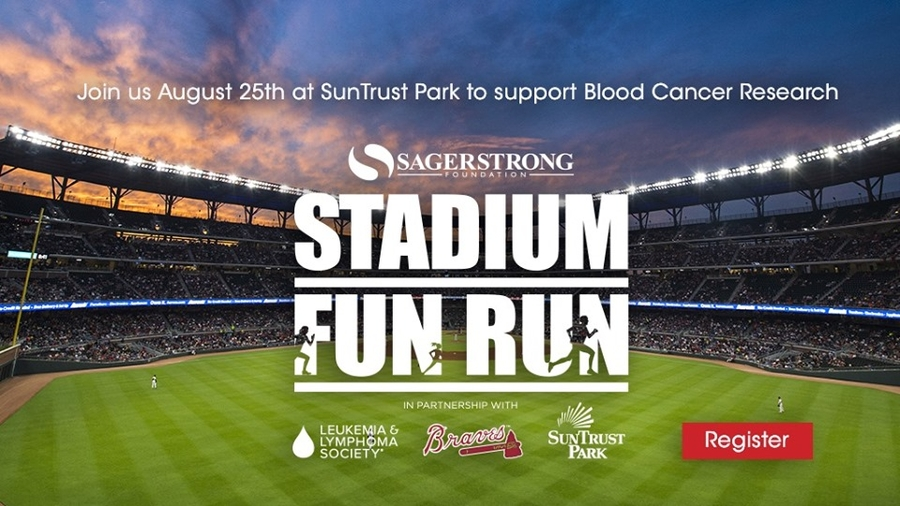 SAGERSTRONG FOUNDATION and LLS Stadium Fun Run in partnership with LLS Georgia Chapter's Team in Training