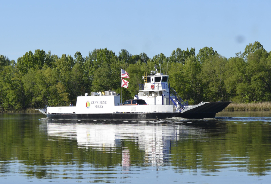 The Nation's First All-electric Vehicle Ferry Enters Service in Alabama