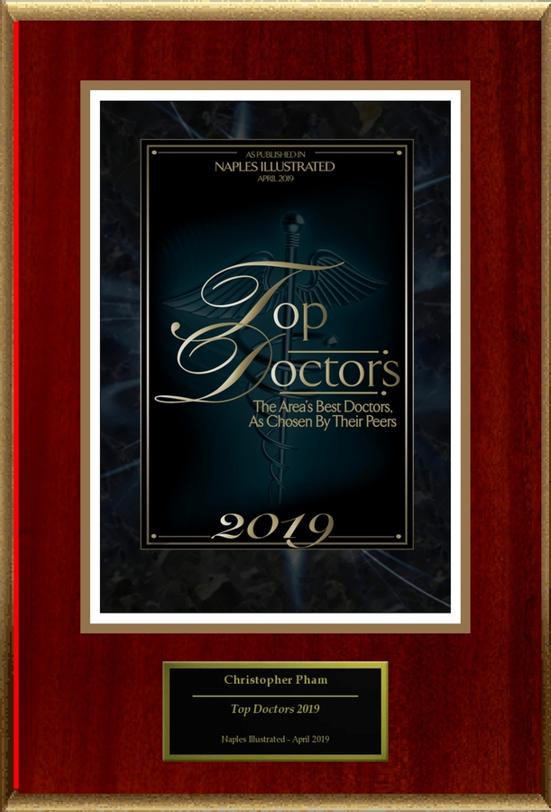 "Dr. Christopher Pham Selected For ""Top Doctors 2019"""