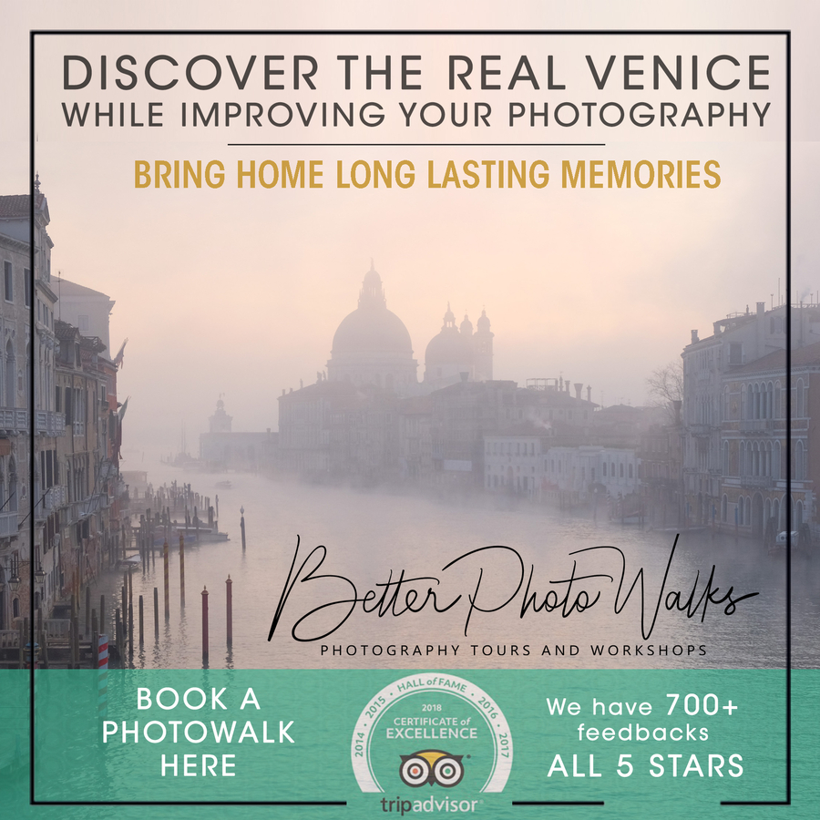 Eco-conscious Tourism Company, Better Photo Walks Ltd, was Recently Honored with Inclusion into TripAdvisor's Hall of Fame for their Venice Original Photo Tour