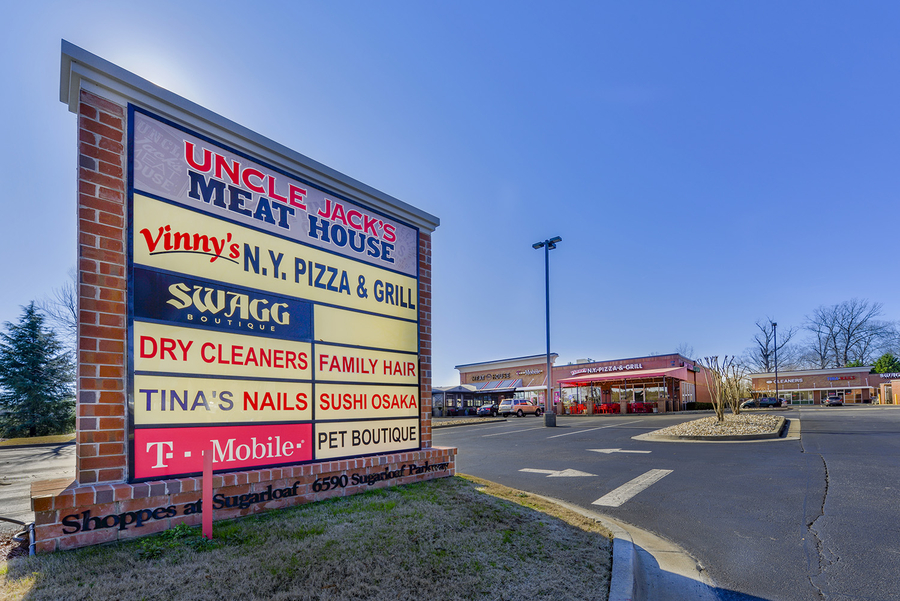 Ackerman Retail Closes Sale of Shoppes on Sugarloaf Retail Center to South Coast Commercial Inc. for $4.425 Million