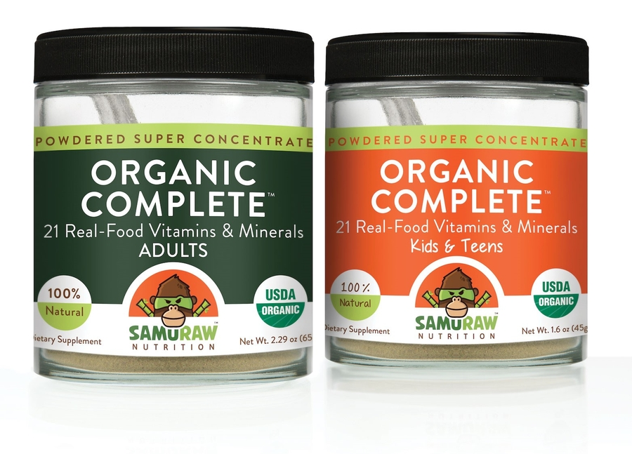 Samuraw Nutrition Inc. Announces World's First 100% Food-derived, Multi Vitamin, Mineral and Probiotic Formula