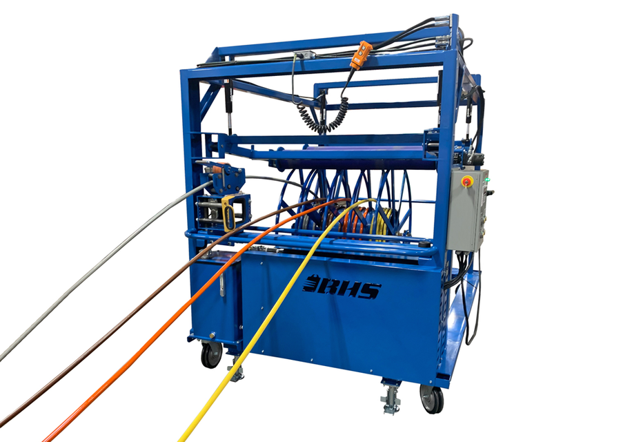 BHS, Inc. Spool Winding Trolley Upgrades Cut-to-Length Wire Distribution