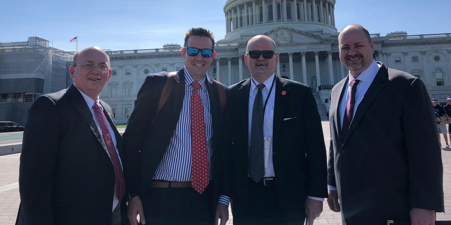 GSCPA Members Visit Lawmakers to Discuss Issues Important to the Accounting Profession