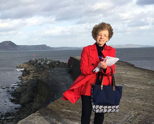 Donna Fletcher Crow, Award Winning Author Of British Historical Novels, Announces New Installment Of Jane Austen Literary Tour Series, 'Jane Austen In Lyme Regis: Reliving Persuasion'