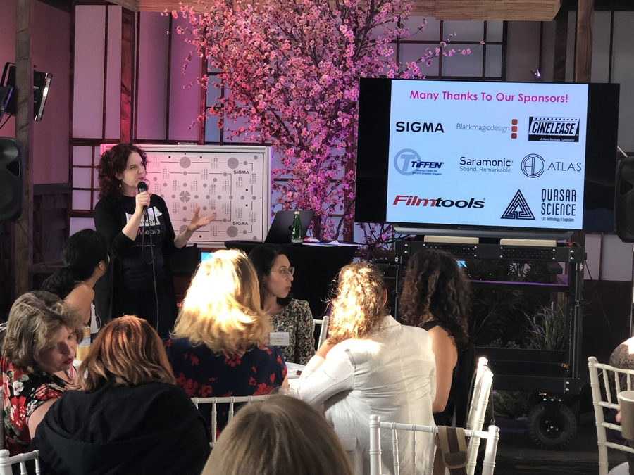 Women in Media's CAMERAderie Initiative Brings Together Film Industry Insiders, Vendors, Mentors, and Diverse Female Filmmakers to Create Three Short Films