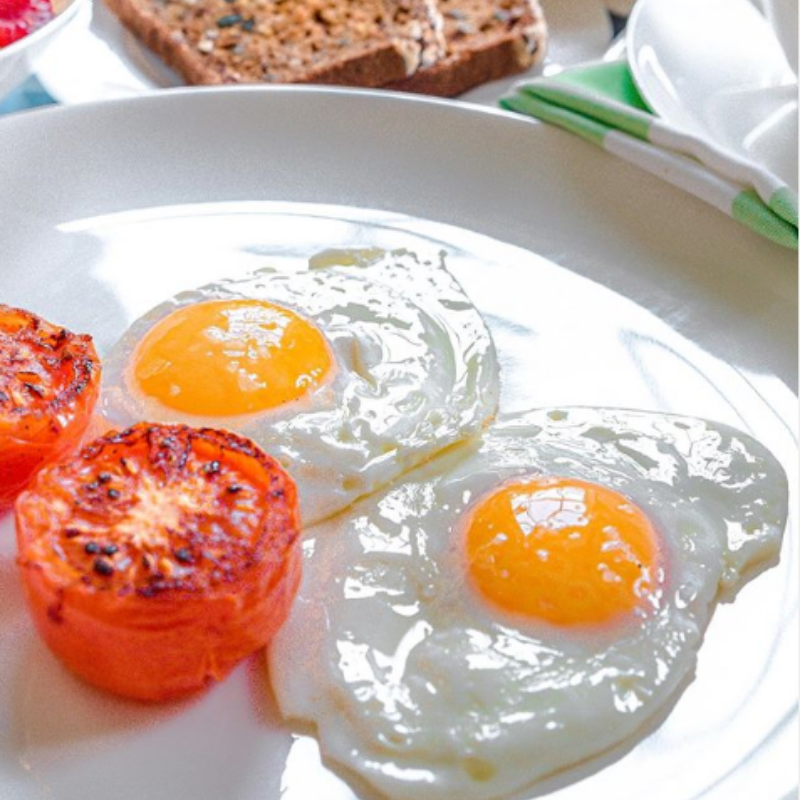 Chino Valley Ranchers Eggs Featured in Social Media Post by Travel Foodie Writer