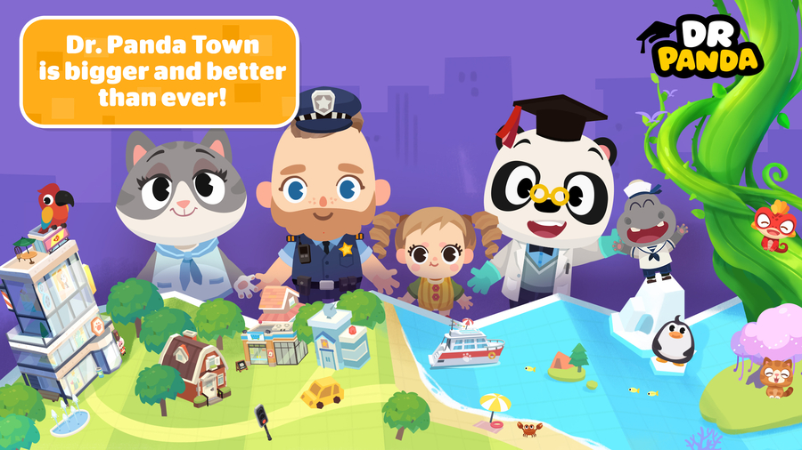 Leading Kids' App Developer Dr. Panda Launches New Mega App!