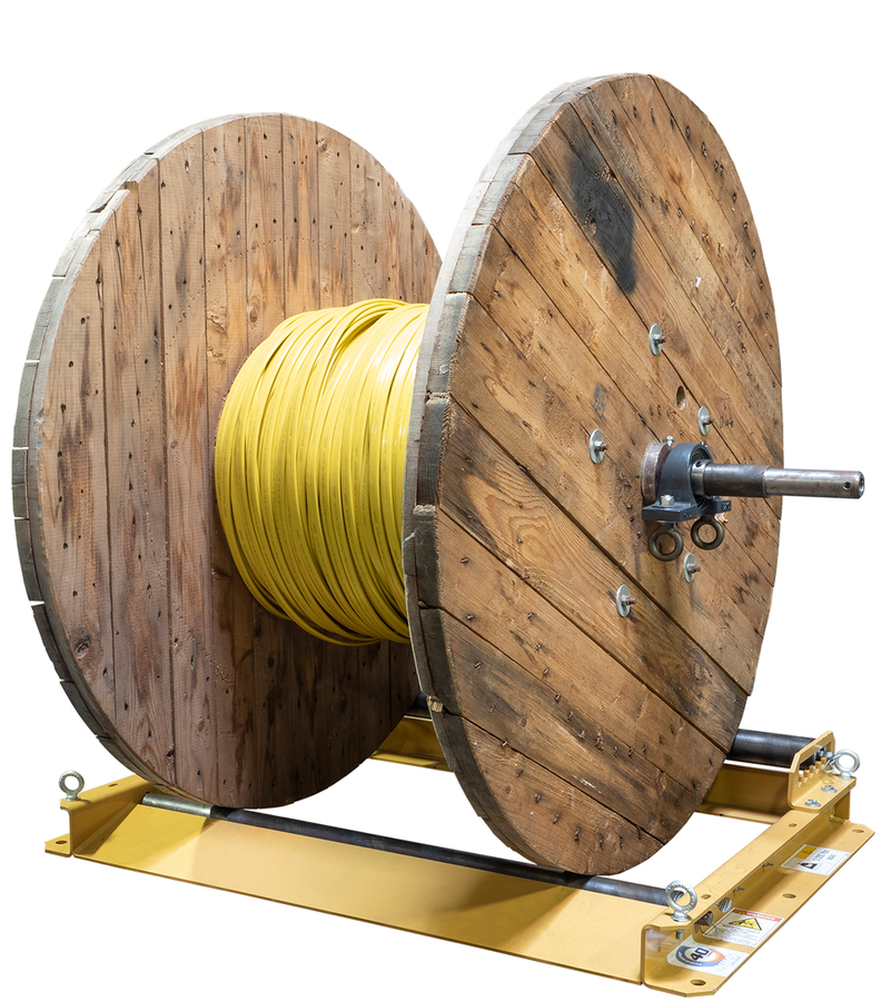 BHS, Inc. Releases Dyna Reel Platforms to Simplify Storage and Handling of Cable Reels