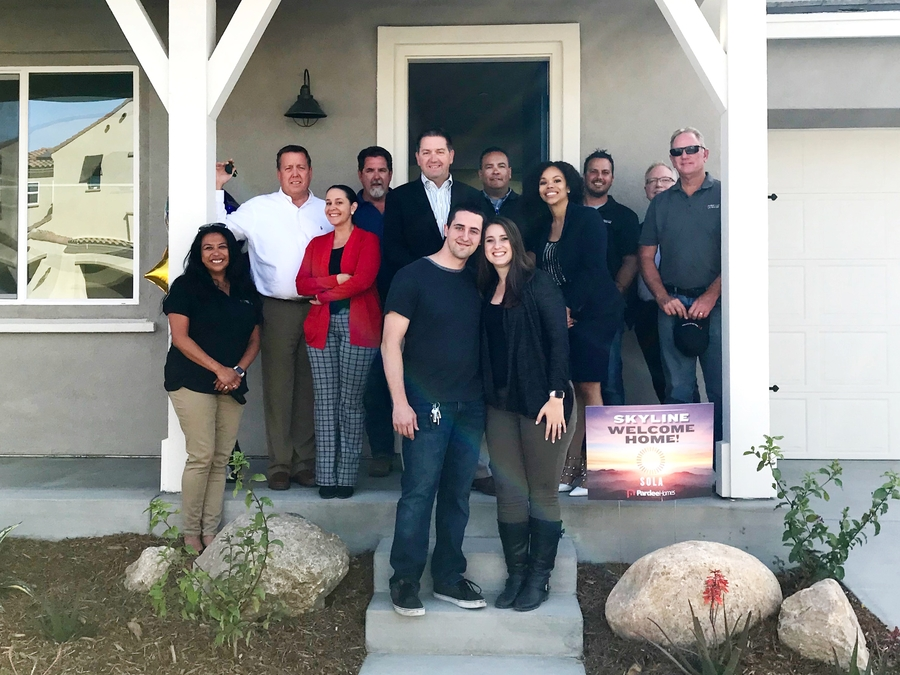 Pardee's Skyline Community Helps First-Time Home Buyers Return to California's Santa Clarita Valley