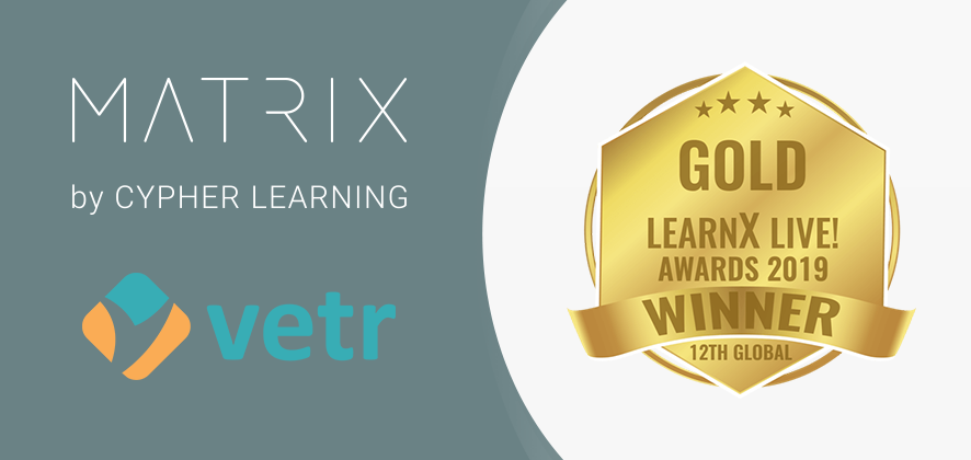 MATRIX LMS Selected as a Gold Winner for the LearnX Awards