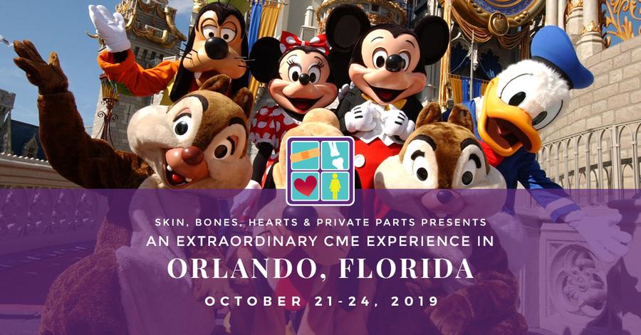 Skin, Bones, Hearts & Private Parts Hosts Orlando, Florida CME Conference