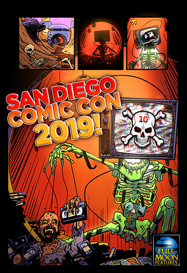 Full Moon and DEADLY TEN Invade San Diego Comic-Con