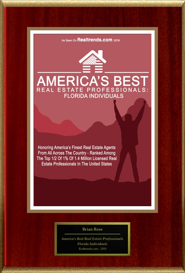 "Brian Ross Selected For ""America's Best Real Estate Professionals: Florida Individuals"""